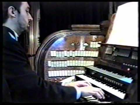 Olivier Latry - Eug�ne Gigout - Scherzo en Mi majeur - Dix Pieces pour Orgue, no. 8