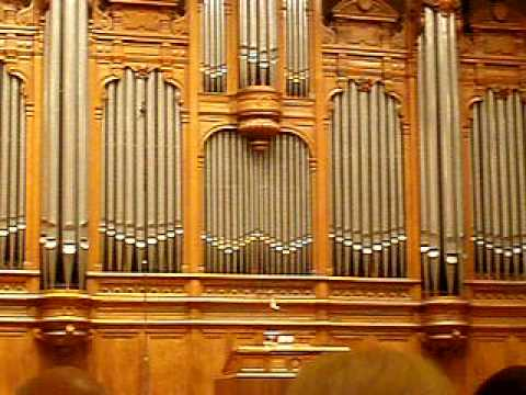 olivier latry plays organ in moscow