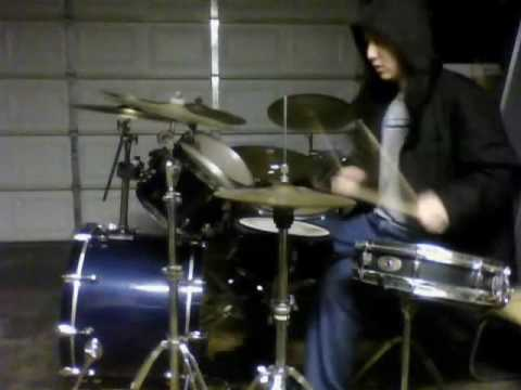 Shai Hulud Solely Concentrating & My Heart Bleeds the Darkest Blood drum cover