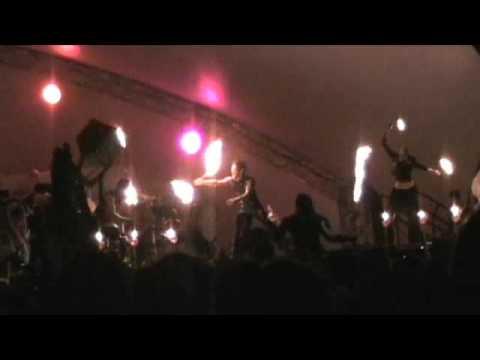 Fire Opera stilt dancers Oregon Country Fair 2009