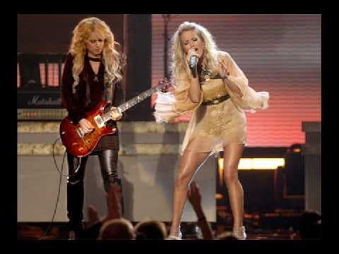 Carrie Underwood Feat. Orianthi - Last Name @ GRAMMY 2009