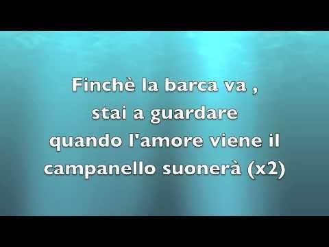 Orietta Berti - Finch� la barca va - Testo