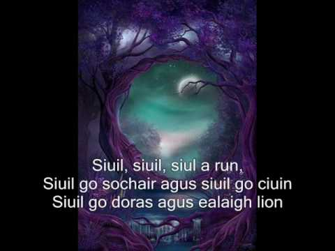 Siuil A Run-Orla Fallon Lyrics (Mermaids and Mermans)