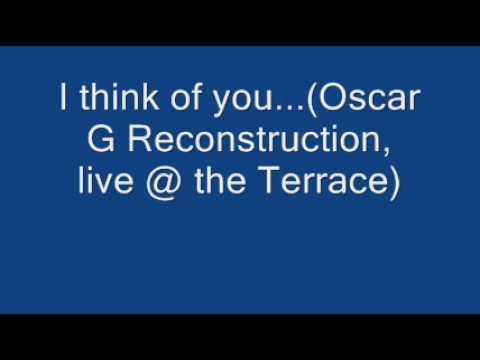 Mady by Monkeys I think of you Oscar G Reconstruction