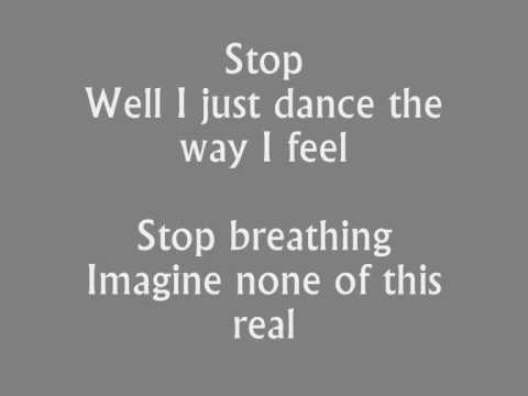 Ou Est Le Swimming Pool - Dance The Way I Feel (HQ) Lyrics
