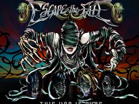 Escape The Fate - This War is Ours (The Guillotine 2) OFFICIAL lyrics