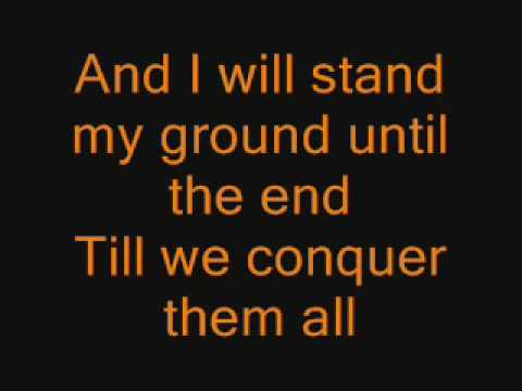 Escape the Fate - This War Is Ours w/lyrics