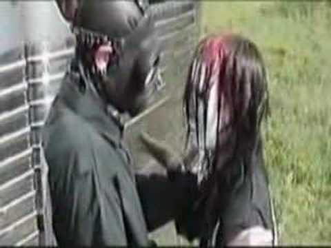 Slipknot before the concert