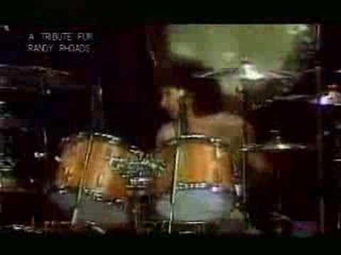 Ozzy Osbourne - Crazy Train(Live) with Randy Rhoads