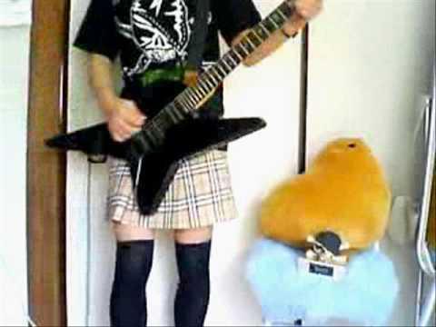 メタル布教活動としてSATOのギターを弾いてみた