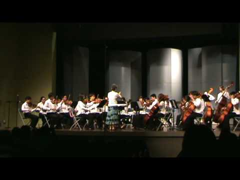 Suite for Strings First Movement, I have a bonnet trimmed in blue