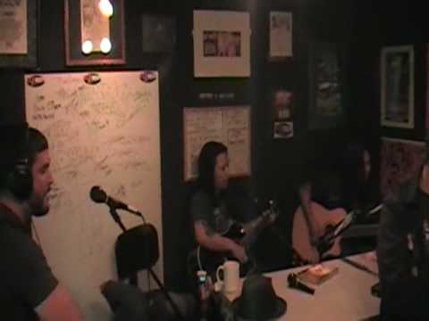 "PAPERCUT MASSACRE ""Part Of You"" acoustic in-studio at WCPR/Biloxi 6/24/09"