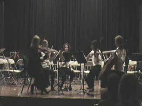 Dustin Hahn- La Gatita Loca [For String Quartet]