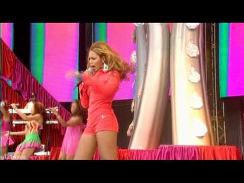 Beyonce - Work It Out Live @ Party in The Park 2003