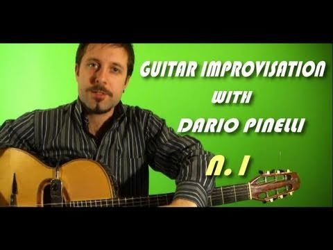 Guitar lessons n.1 with Dario Pinelli (improvisation)