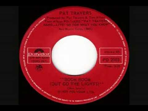 Pat Travers - Boom Boom (Out Go The Lights) (live edit)