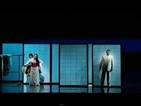 """Marcello Giordani & Patricia Racette Butterfly`s Duet - """"Viene la sera"""" . Met 2009"""