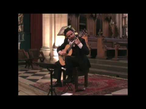 Matthew McAllister `Courante` ~ JSBach, Cello Suite No.1
