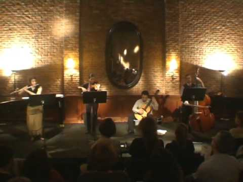 "Con Fusion Quartet plays ""Recuerdos de l` Argentina"" by Nikos Piperis"