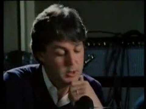 Paul McCartney cries after John Lennon`s death