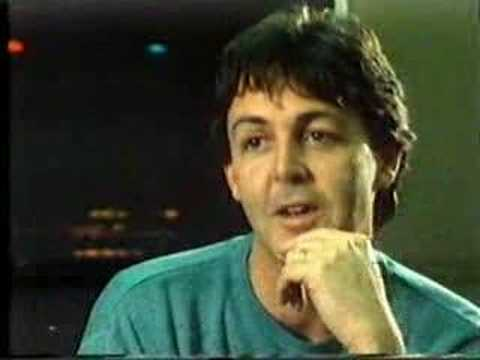 paul mccartney - about johns death (here today)