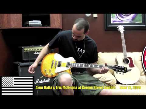 Boogie Street Guitars - Arun Datta reviews PS7000 Preacher Guitar - June 13, 2009