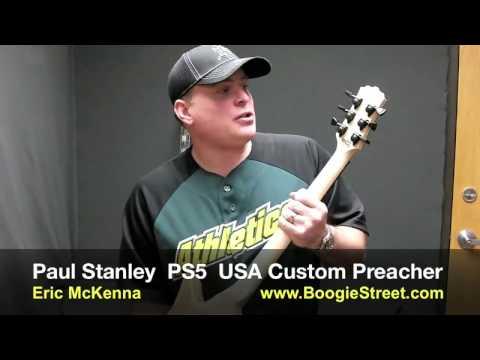Washburn Boogie Street PAUL STANLEY PS5 Preacher by Eric McKenna