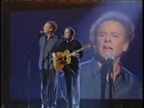 Paul Simon & Art Garfunkel The Sound Of Silence Live