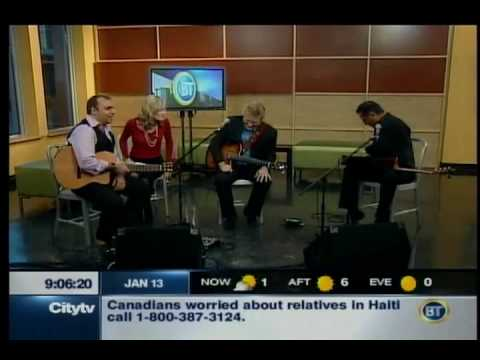 Trifecta, Pavlo, Rik Emmett & Oscar Lopez @ City TV Interview & Performance - Part 1