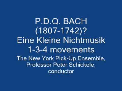 PDQ Bach: Eine Kleine Nichtmusik-1,3,4
