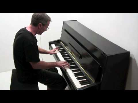 Grieg `In the Hall of the Mountain King` - piano solo - Paul Barton, piano