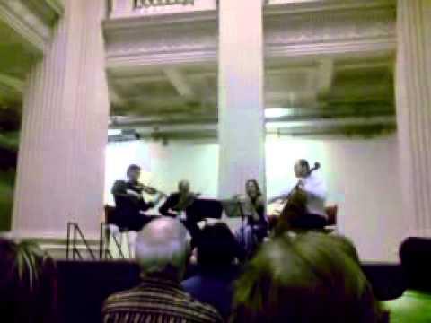 Penderecki String Quartet In Porto Alegre, RS Brazil