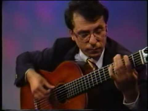 Rare Guitar Video: Pepe Romero plays Zapateado by Celedonio Romero