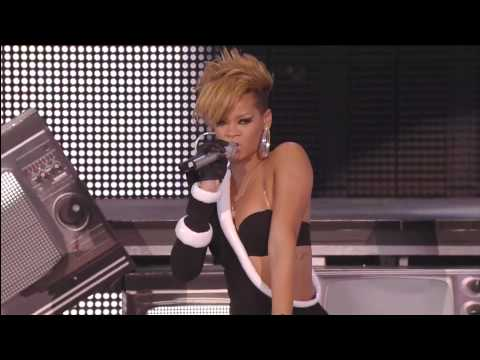 Rihanna - Medley [Full HD] Pepsi Super Bowl Fan Jam 2010