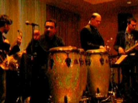 "Sammy Figueroa and the LATIN JAZZ EXPLOSION Band playing ""Healing Man"""