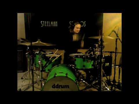 Perry Farrell - Go All The Way Into The Twilight DRUM COVER *GREAT AUDIO*