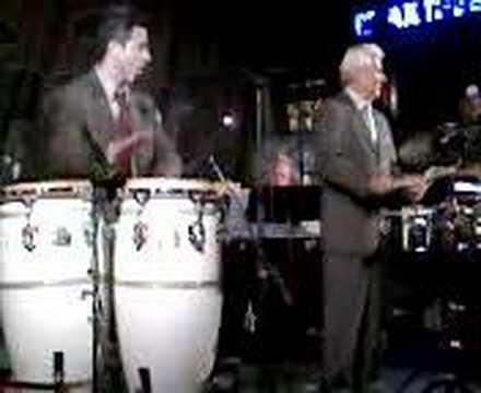 Pete Escovedo and family in Brea, CA
