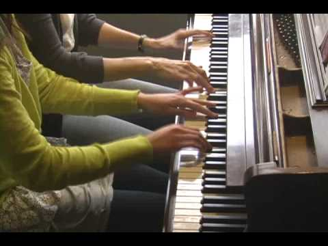 Peter and the Wolf, piano four hands