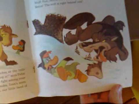 Peter and the Wolf - Read-Along Book and Record