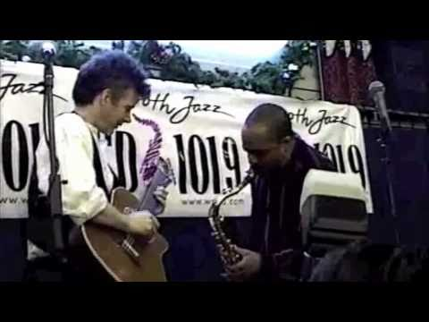 Peter White and Grover Washington, Jr.- event for CD101.9 @ J&R Music World NYC 1997