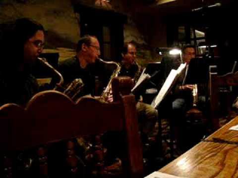 "Mesanite Conetette (Sax Quartet), ""Three Improvisations"" - Phil Woods. 1st Mvmnt."