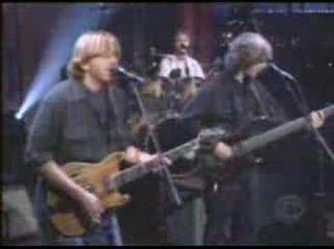 Phish: Birds of a feather on Letterman