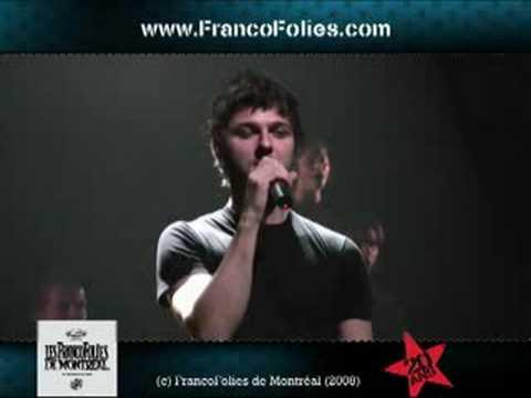 Mutant�s, de Pierre Lapointe - FrancoFolies de Montr�al 2008