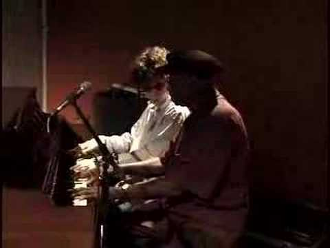 Conrad Oberg (11yrs.) and Pinetop Perkins (92yrs.) Blues!!