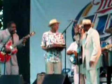 Pinetop Perkins 94th Birthday, July 4, 2007 - WFBF