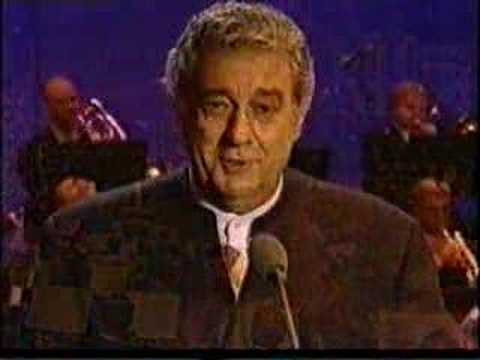 Placido Domingo sings Granada in Wroclaw