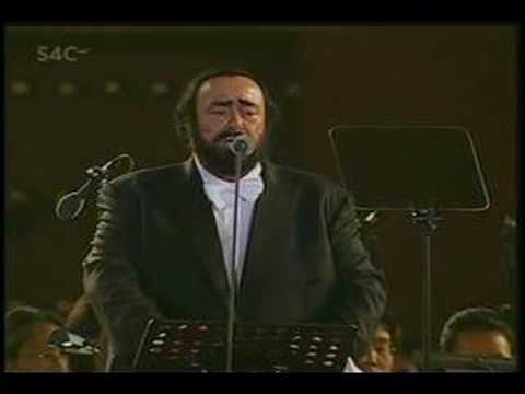 Three Tenors 2001 - Santa Lucia Luntano - Pavarotti Domingo