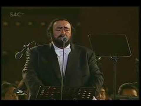 Three Tenors 2001 - Santa Lucia Luntano - Pavarotti Domingo