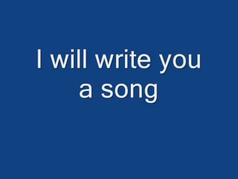 Plain White T`s-Write you a song-with lyrics