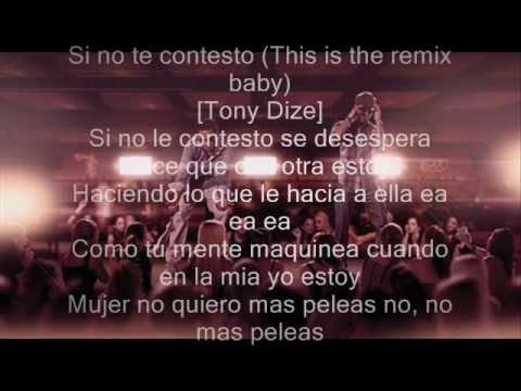 Plan B-Si No Le Contesto Remix 2010-2011 ft Tony Daze & ZiOn & Lenox+letra
